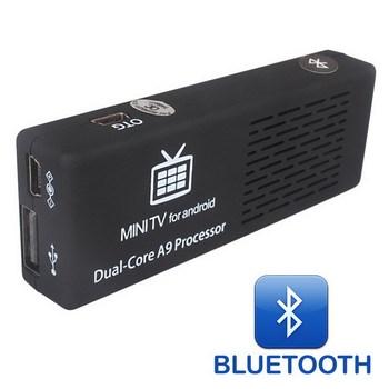 Android 4.2.2 MK808B Bluetooth Mini PC RockChip RK3066 Dual Core Cortex-A9 1GB / 8GB Google TV MK808 II EU Plug Free Shipping