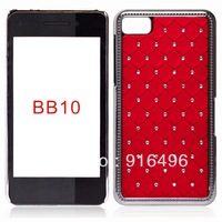 Luxury New Bling diamond case for Blackberry BB10 Crystal Star back Hard Case Cover for Blackberry BB Z10  Fast Free shipping