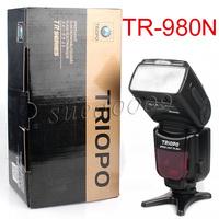 Triopo TR-980N TTL Speedlite Flashgun Flash For Nikon D600 D800E D7000 D300 D80
