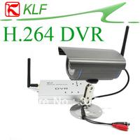 Wireless Digital Night vision Camera Kit & H.264 CCTV 4CH QUAD Security System Motion Recording