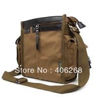 free shipping promotion  casual canvas men's bag  small single shoulder bag messenger bag