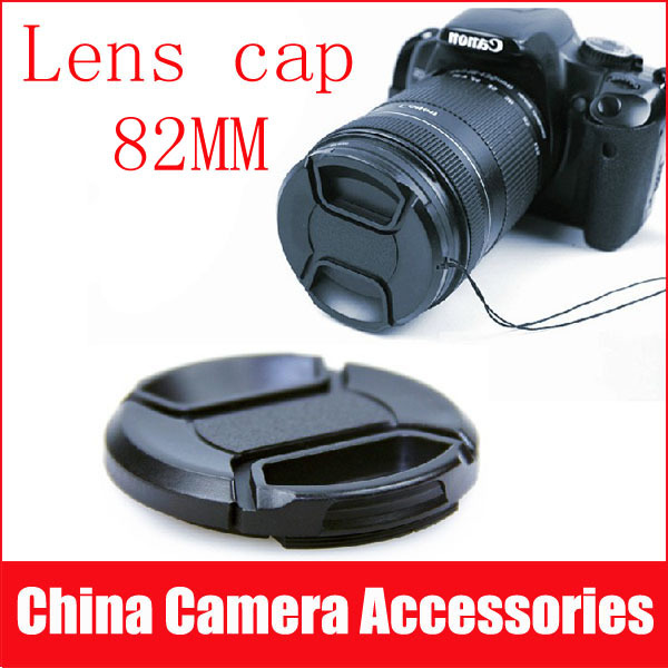 Camera 82mm Center Pinch Lens Cap Cover for Canon Nikon SONY front cap free shipping(China (Mainland))