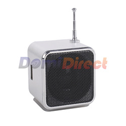 TD-V26 Mini Speaker Music Box support TF cad/FM function USB flash PC mobile phone free shipping(China (Mainland))