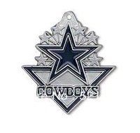 free shipping (Can be Mixed) sport enamel Dallas Cowboys football team logo charms 50 pcs a lot
