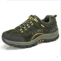 Camel men's 2013 breathable hiking shoes outdoor shoes casual shoes genuine leather casual shoes