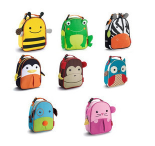 Child animal meal package infant meal package insulation bag ice pack animal style bread cartoon bread