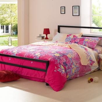 Thick bedding 4 diamond cotton velvet bedding set piece