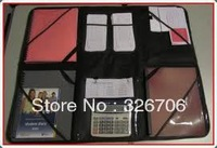 Free Shipping 48pcs/lot Wonder File Organizer Wonderfile As Seen On TV Portable Work Station Red and Black Color Available