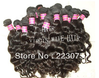 "Black Queen virgin brazilian hair extension body wave ,14""-28"", 10pcs/lot  free shipping wholesale"
