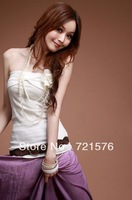 2013 summer women new Bow Bra joker the vest 3 color optional B3 free shipping