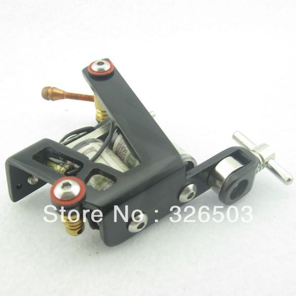 One 8 Wrap Coils General Beginner Tattoo Machine Gun For Kit Set Supply STG-Z01(China (Mainland))