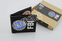 Wallet Creative Cloth Wallet Fashion waterproof High-end paper wallet with mimic FBI document pattern Free Shipping
