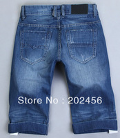 2013 Men's casual jeans new fashion waist cotton