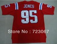 Free shipping American football ELITE #95 Jones Chandler 95 red cheap Jersey jerseys gift size M-XXXL