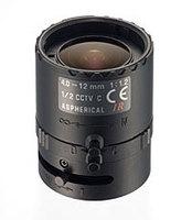 """Tamron 12VM412ASIR 1/2"""" 4-12mm F/1.2 Infrared Manual C-Mount Lens"""