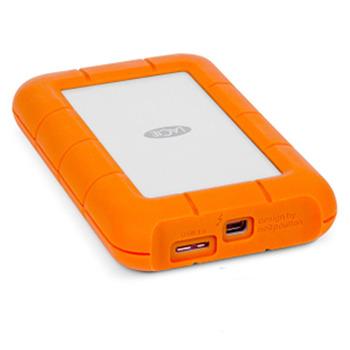 Lacie rugged usb3.0 les 1tb dual interface thunderbolt mobile hard drive