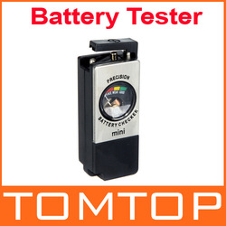 Digital Universal Battery Checker Tester for AA AAA C D 9V,freeshipping(China (Mainland))