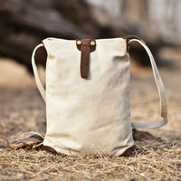 2013 free shipping fashion cowhide  one shoulder cross-body small casual canvas messenger bag high quality designer