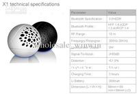 Wholesale - -wireless bluetooth speaker acoustic speaker for ipad iphone fashiona CSR chips