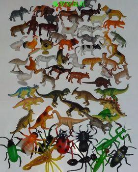 Plastic animal wild animal model tiger toy model 62