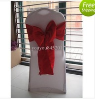 Wholesale-Red Taffeta Sash for Wedding,Party,Hotel...