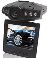 F198A, HD CAR DVR,6 IR LED, 1.3 megar pixel with 2.5'' TFT,HDMI out put.Free shipping