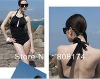 Piece triangle women swimsuit the tall sexy swimwear female evening dress models swimsuit Spa women's  beach wear One Pieces