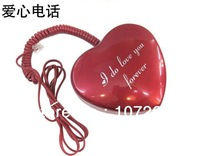 unique telephone, romantic love heart design home telephone for valentine gift