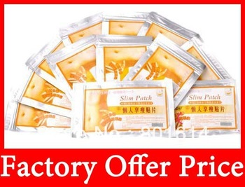 Free Ship Factory Offer Price Slim Patch Weight Loss PatchSlim Efficacy Strong Slimming Patches For Diet Weight Lose 1bag=10pcs