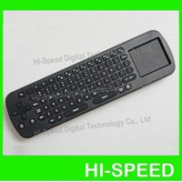 New Measy RC12 2-IN-1 Smart Wireless 2.4GHz Air Mouse + Touchpad Handheld Keyboard Combo, Wholesale free shipping post