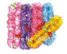 artificial flower garland hawaiian
