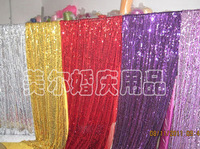 hot sales wedding stage backdrop curtain with led light Size: 6m/20ft (w) x 3m/10ft (h) Customized Sizes are Accepted