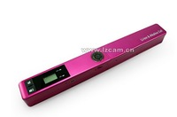 Lz-518 portable scanner handheld scanner document scanner a4 dual power built-in lithium battery