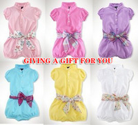 Retail 2013 NEW Baby Girl Fashion Lace Dress Newborn Girl Rompers Girl's Wear The Lovely Princess Bow Lace Romper Baby Clothes