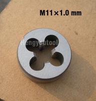 1pcs Metric Right Hand Round Die M11 M11*1.0mm Threading Machine Tools Cutting tools