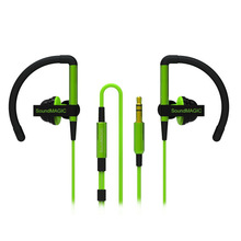 green ipod headphones promotion