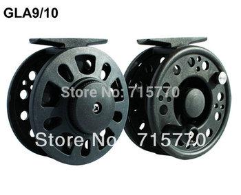 Graphite Fly Fishing Reel GLA9/10 110mm Free Shipping