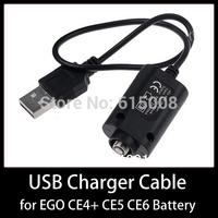 USB Cable Charger for CE4+ CE5 CE6 EGO E Cigarette 4.2V 420mAh