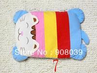 New arrival Cute Baby Toddler Safe  Anti Roll Sleep Head  Pillow Positioner Cartoon  buckwheat  absorbent  pillow   kindergarten