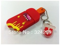 Wholesale Hot Cheap Enough Cartoon Ice cream Model  USB 2.0 Flash Memory Stick Drive