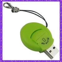 USB 2.0 Mini Micro SD TF Memory Card Reader clourful