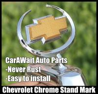 FreeShipping Chevrolet Cruze standard metal mark car Stand Mark Car Chrome Logo Hood Ornaments Badge Emblem antirust