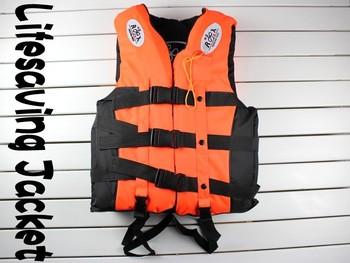 DHL or EMS or Fedex Freeshipping, High Quality Life Jacket,Life Vest+Save Belt+Whistle,Professional Life Vest, Lifesaving Jacket
