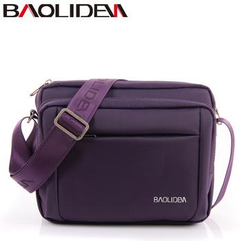 Multi-layer baoliden waterproof nylon shoulder bag male bag man casual sports messenger bag free shipping