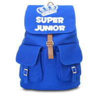 NEW super junior rucksack knapsack travelling bag schoolbag