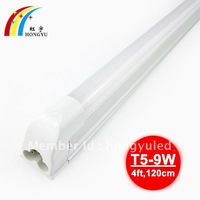3pcs/lot,600mm 4W SMD3528 T5 tube ,t5 Led tube light/ lamp, with Integrated fixture and driver, Free shipping