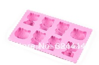 Luo Hasi new hello kitty ice lattice ice box ice mold apparatus