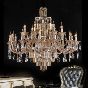 Luxury fashion pendant light crystal lamp villa lamp living room lights lighting restaurant lamp project light