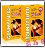 Pleasure more condoler gold condom fun condom ultra-thin delayaction ! adult supplies 10