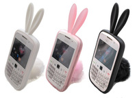 Lowest price Rabbit Silicone Protector Case Cover For Blackberry Curve 8520 9300